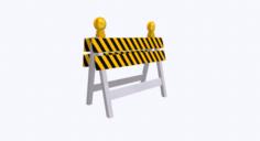 Roadblock 03 3D Model