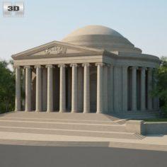 Thomas Jefferson Memorialc 3D Model