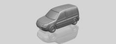 Citroen Berlingo Belgium Post 3D Model