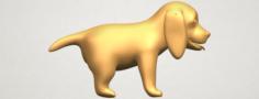 Puppy 01 3D Model