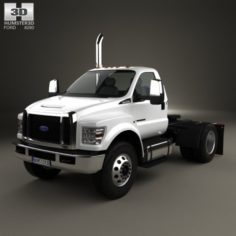 Ford F-650 – F-750 Regular Cab Tractor 2016 3D Model