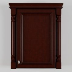 Bathroom Storage Wall Cabinet 3D Model