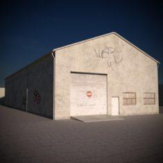 Warehouse 02 3D Model