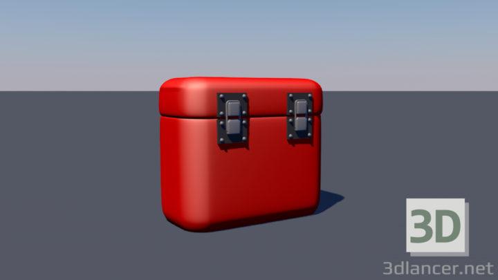 3D-Model  Metal chest
