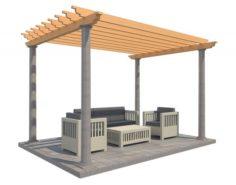 Pergola 23 3D Model