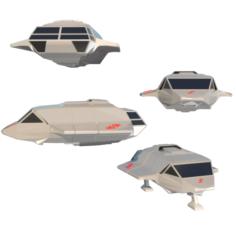 Skyfighter 3D Model