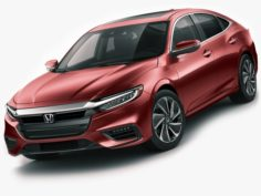 Honda Insight 2019 3D Model