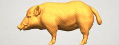 Pig 02 3D Model