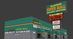 Slauson Super Mall 3D Model