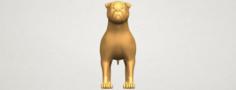 Bull Dog 05 3D Model