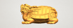 Dragon Tortoise 3D Model