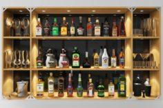 Bar Set Grand 3D Model