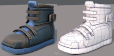 Shoes cartoonV11 3D Model