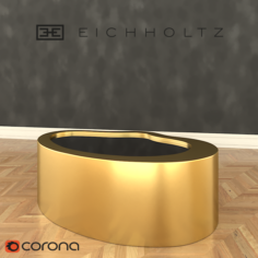 Eichholtz Coffee Table Gibbons 3D Model