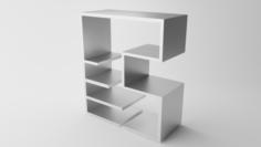 A shelf 3D Model