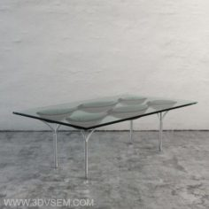 Original Glass Table 3D Model
