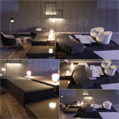 Minotti selection 2 3D Model