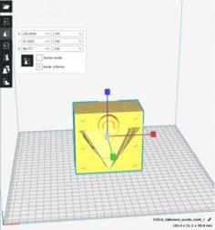 Millennium Puzzle MOLD 3D Model