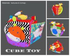 Cube Toy 3D Model