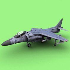 AV-8B Harrier II plus 3D Model