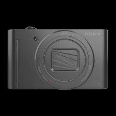 SONY DIGICAM 18MP BLACK 3D Model