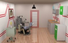 Dentist Clinic 3D Model