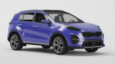 Kia Sportage GT 2018 3D Model