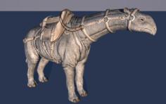 Paraceratherium 3D Model