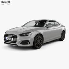 Audi A5 Coupe 2016 3D Model