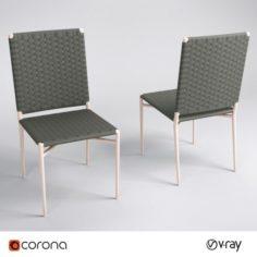 Siena Chair 3D Model