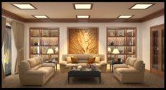 Classical livingroom 3D Model