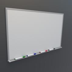 Whiteboard 3D Model