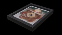 Restaurant Picture Frame 3D Model