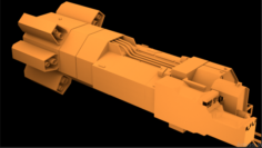 Space-ship-007 3D Model