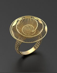 Ultra vision ring 3D Model