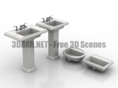 Kohler Tresham Sinks 3D Collection