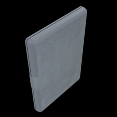 NUPRO SLIMFIT COVER FOR NEW KINDLE 8TH GENERATION BLACK 3D Model