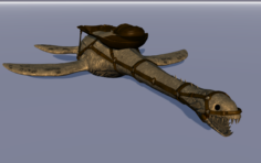 Plesiosaur 3D Model