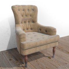 An old armchair 3D Model