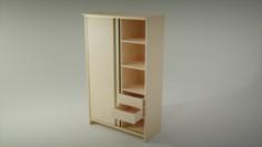 Sliding wardrobe 3D Model