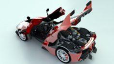 Ferrari FXX K 2015 3D Model