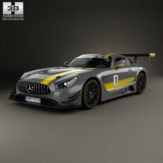 Mercedes-Benz AMG GT3 2015 3D Model