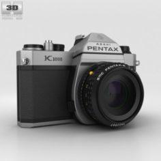 Pentax K1000 3D Model