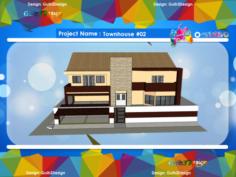 Townhouse 02 3D Model
