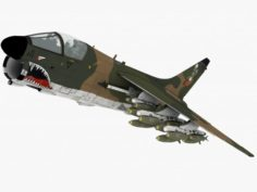 LTV A-7 Corsair II 3D Model