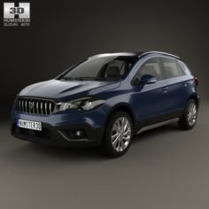Suzuki SX4 S-Cross 2016 3D Model