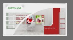 Exhibition stand 12 3D Model