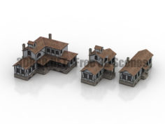 Fachwerk House 3D Collection