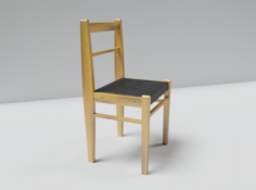 Chair of the Soviet era 3D Model
