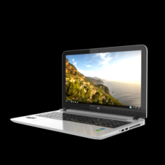 HP Pav 15 LAPTOP 3D Model